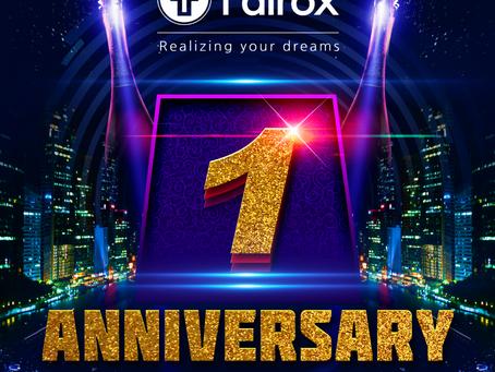 FAIROX 2个月(4月 + 5月)周年前促销公告