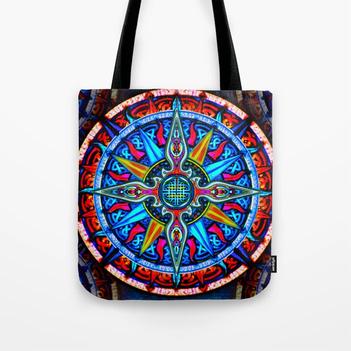 Celtic Compass #4 Tote Bag