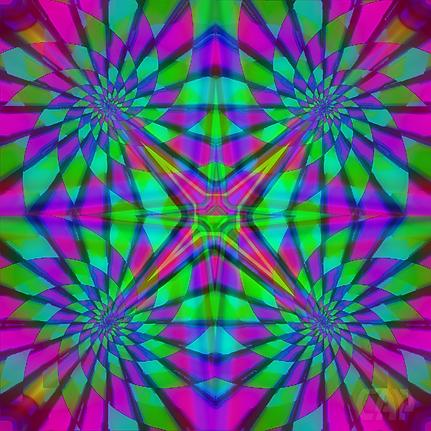 Quadro #5 Optical Illusion