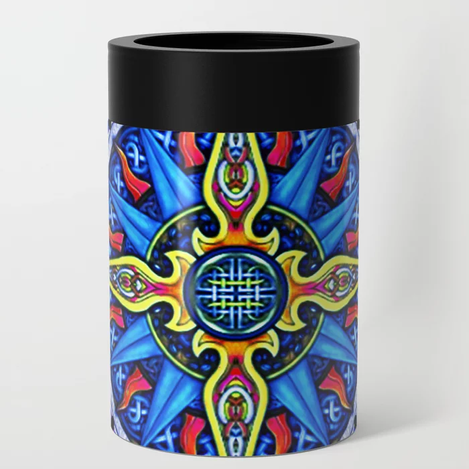 Celtic Compass #3 Can Cooler