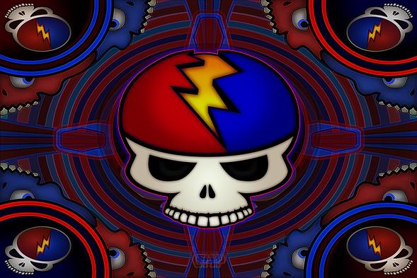Grateful Skulls III