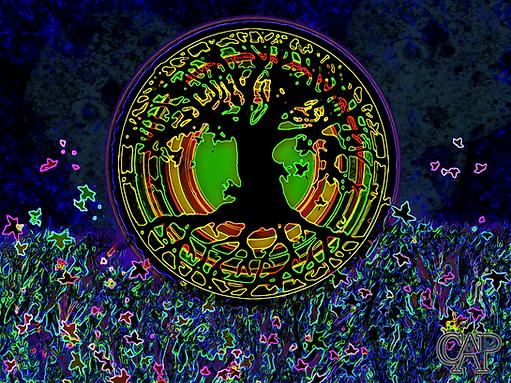 Nighttime Tree of Life