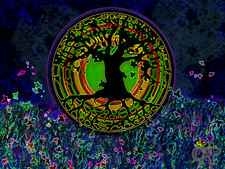 Nighttime Tree of Life