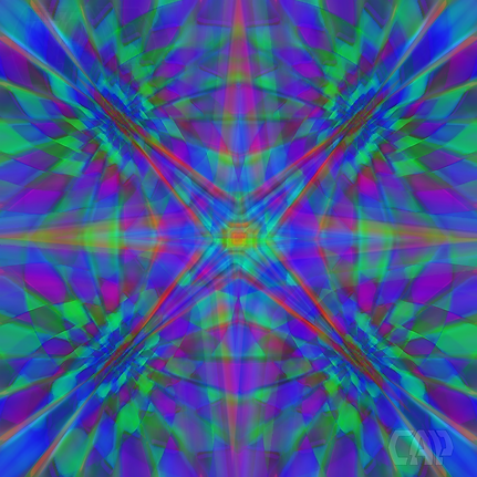Quadro Optical Illusion