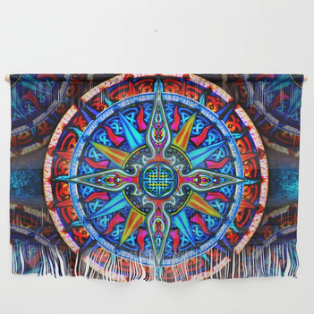 Celtic Compass #4 Wall Hanging