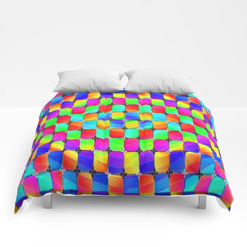 Tumbler #31 Psychedelic Optical Illusion Design by CAP Comforters