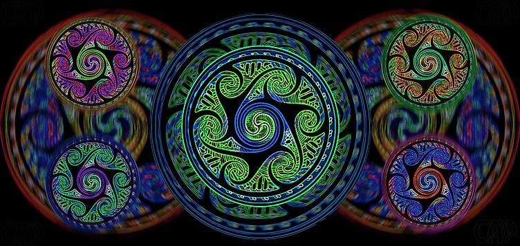Variated Celtic Spheres