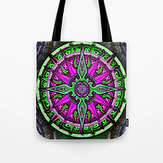 Celtic Compass #1 Tote Bag