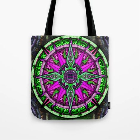 Celtic Compass #1 Tote Bag