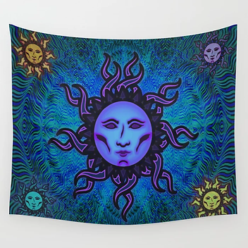 Sublime Moon Tapestry #2 Wall Tapestry