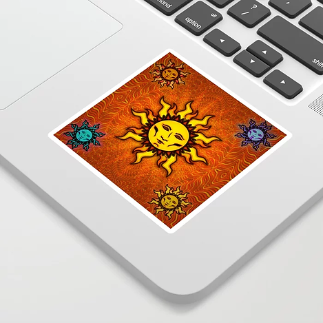 Sublime Sun #1 Tapestry Sticker