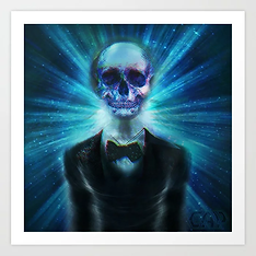 Lets Do The Mind Warp Again Art Print