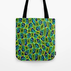 Tumbler #29 Trippy Psychedelic Design Tote Bag