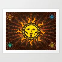 Sublime Sun #1 Icon Art Print