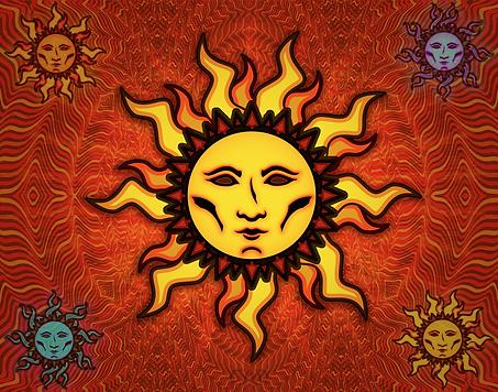 Sun #1 Tapestry