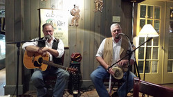 Performing at the Red Stag Pub
