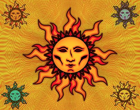 Sun #2 Tapestry