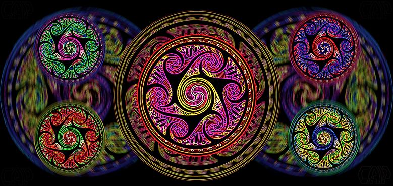 Variated Celtic Spheres #3