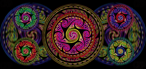 Variated Celtic Spheres #3