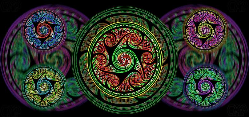 Variated Celtic Spheres #2