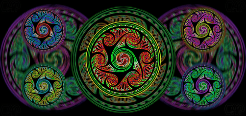 Variated Celtic Spheres #2