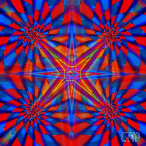 Quadro #1 Optical Illusion