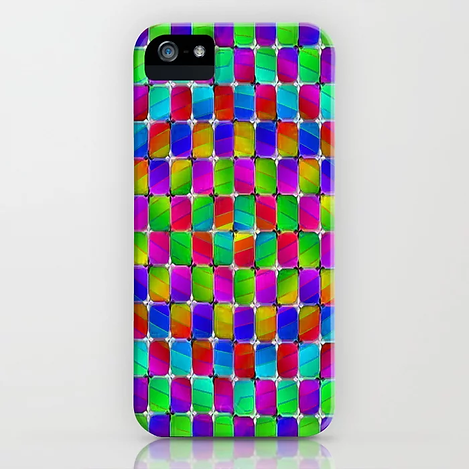 Tumbler #4 Psychedelic Optical Illusion Design by CAP iPhone Case