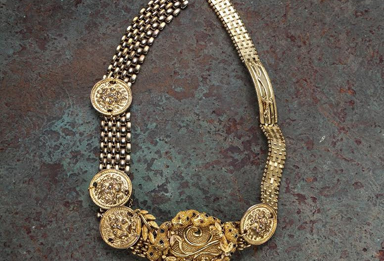 Golden Tigers Necklace