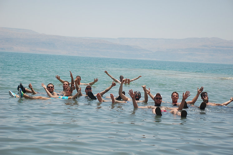Dead Sea Floating and enjoying the Tour