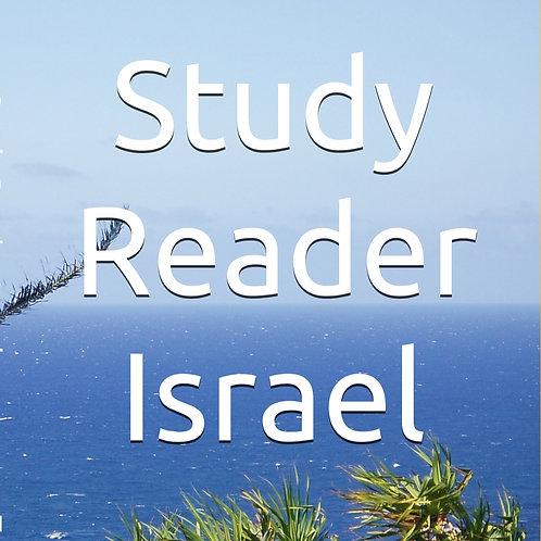 Paperback Book - Study Reader Israel