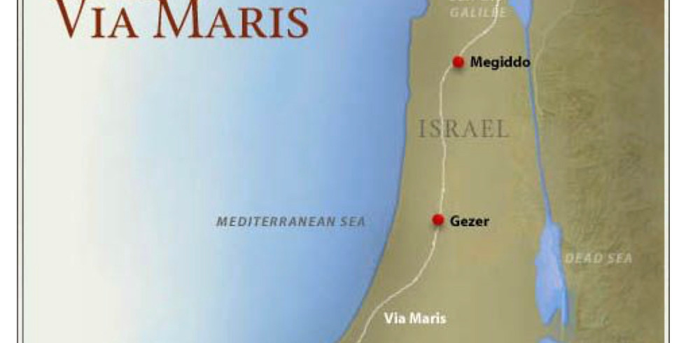 The Geography of Abraham's Journey to the Holy Land