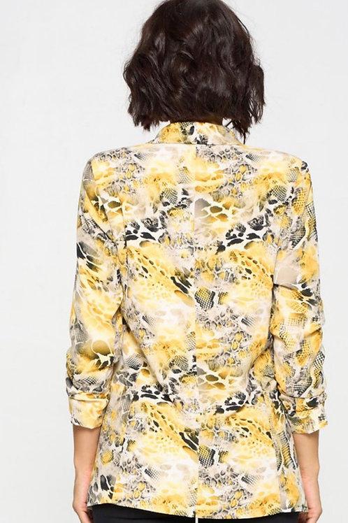 Yellow Spring Blazer