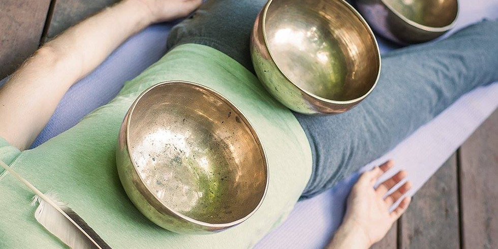 GONG AND SOUND BOWL Healing Session SPECIAL with Rene