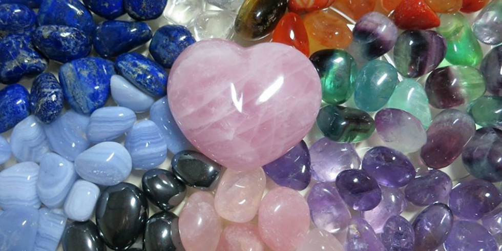 CRYSTAL BASICS-YOUR TOP 10 with Debbie on Site & Zoom Option