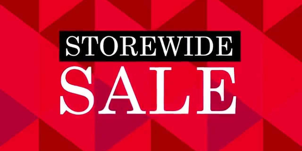 Black Friday &/Small Business Saturday- STOREWIDE SALE!