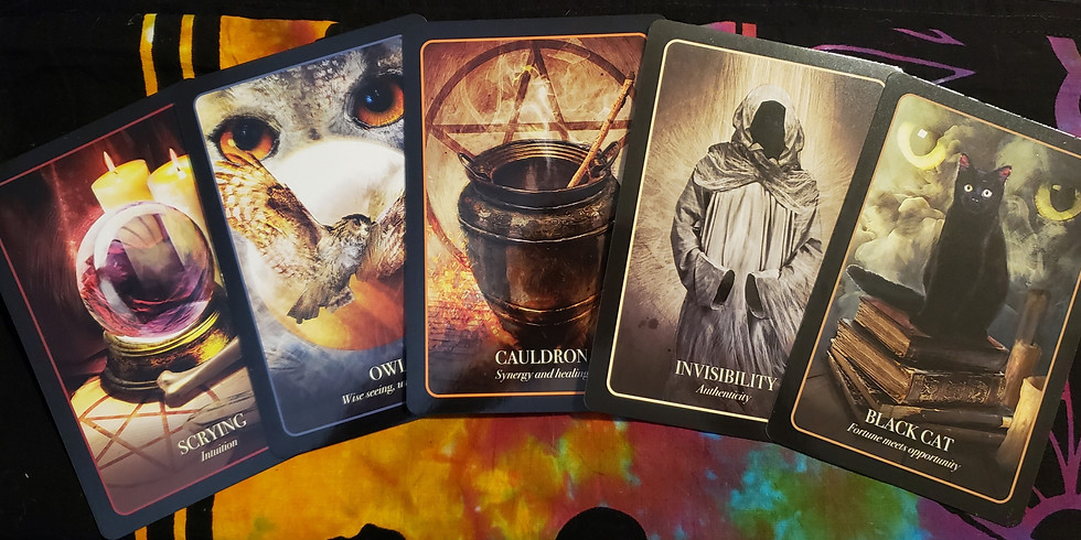 Friday the 13th Tarot Reading Special with Psychic Robin