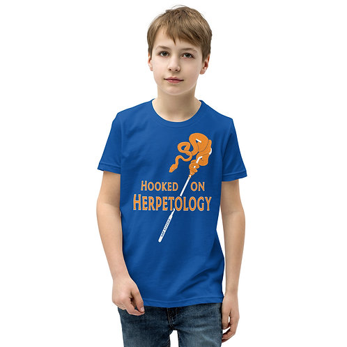 Hooked on Herpetology Youth Short Sleeve T-Shirt