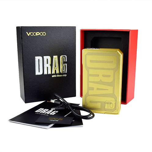 VOOPOO DRAG 2 MOD - 157w TC TCR - GOLD AZURE