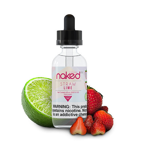 NAKED 100 STRAW LIME 60ml E-LIQUIDO