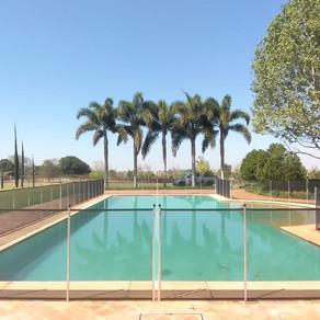 Instalação de cercas removíveis para piscina Limitpool