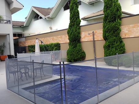 Cercas para piscinas Limitpool, confiabilidade e garantia