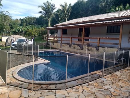 Cercas para piscinas Jundiaí - Ibiúna