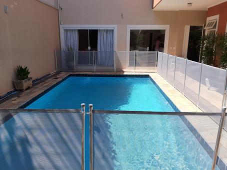 Sempre é importante proteger sua piscina