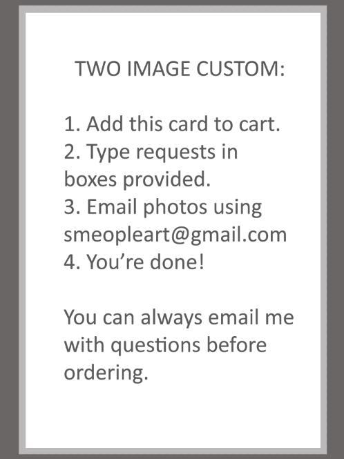 Two Image Custom Card
