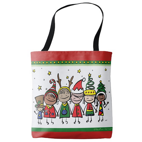Holiday Smeople Tote