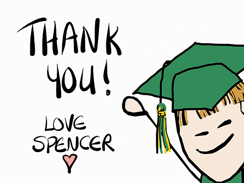Spencer's Thank You!