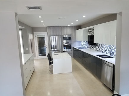 luxury kitchen design on italian material, high quality