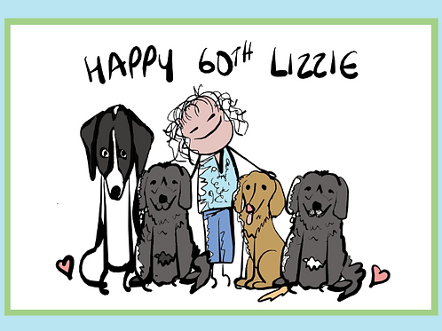 Happy 60th Lizzie