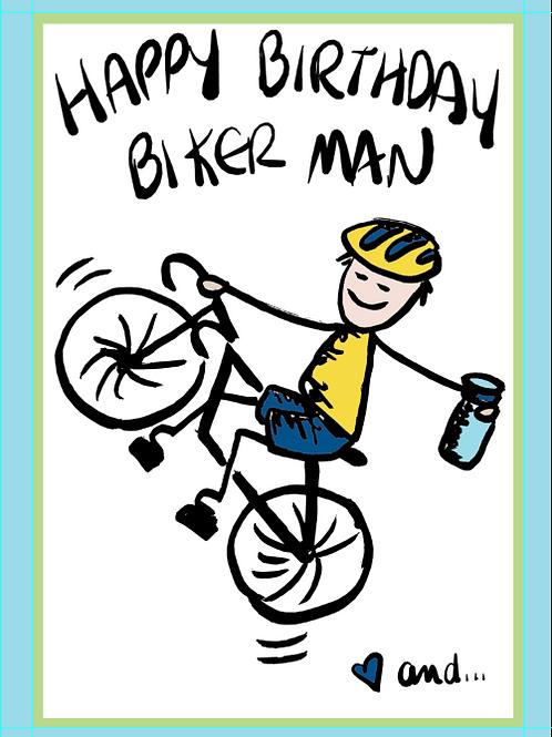 Biker Man Birthday