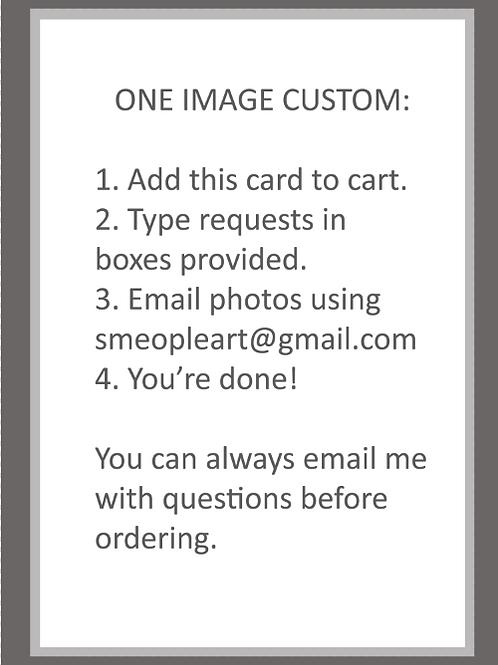 One Image Custom Card